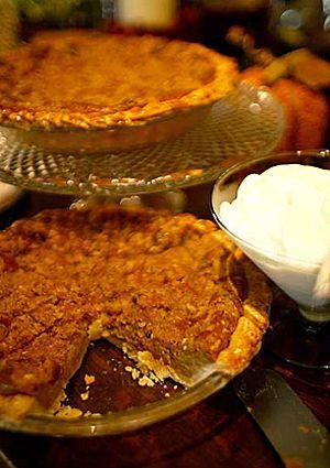 Sweet potato pie with pecan streusel | sugar sugar ~ desserts | Pin ...
