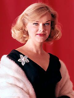 """Anne Francis, Sep.16,1930 - Jan.2,2011. """"Funny Girl"""". Diagnosed With Lung Cancer In 2007. Died From Complications Due To Pancreatic Cancer"""