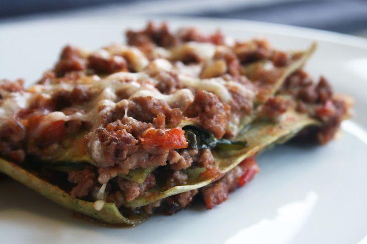 En liten chili: Lite nyttigare lasagne gjord på keso