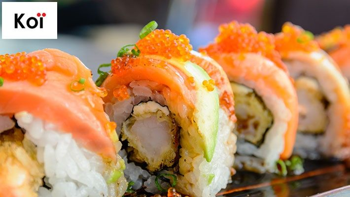 50% off Food & Beverages from the Menu at Koi Sushi Bar & Grill, Dekwaneh ($15 instead of $30)