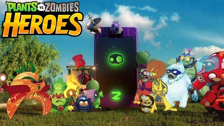 Plants vs Zombies: Heroes é o novo jogo de cartas colecionáveis da EA, desenvolvido pela PopCaps Games para mobile, previsto para 2016.