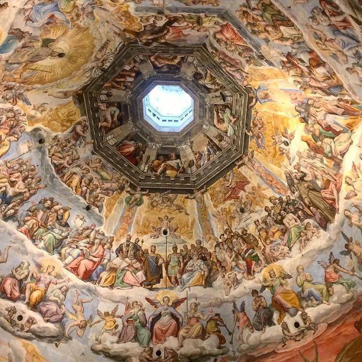 Gli affreschi della cupola del Brunelleschi (Giorgio Vasari & Federico Zuccari) - Firenze