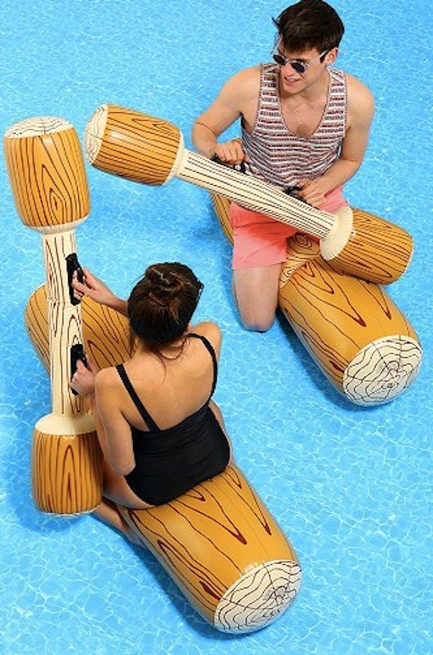 Joust Pool Game, $30 | 31 Super Fun Products You Definitely Need This Summer | uh I kinda need this for summer