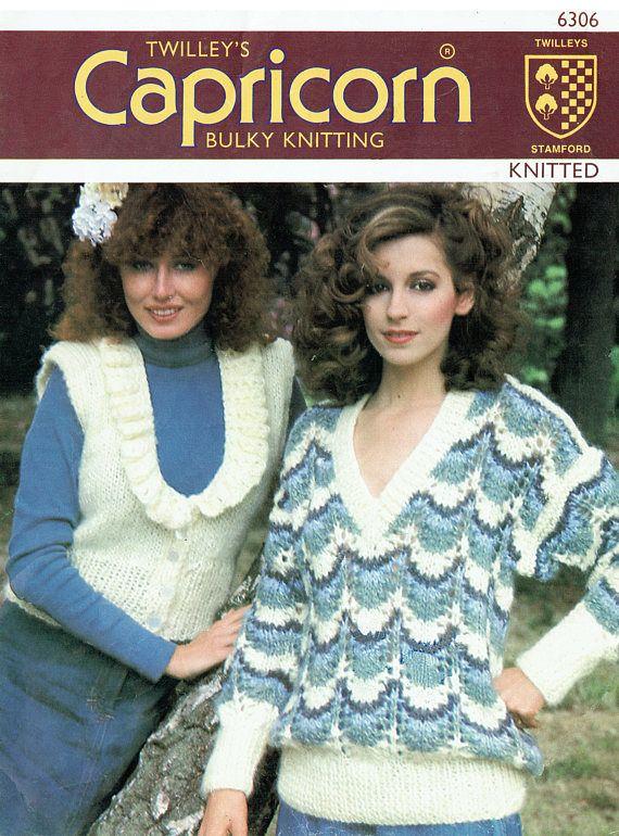 PDF Vintage Womens Ladies Knitting Pattern Twilleys 6306