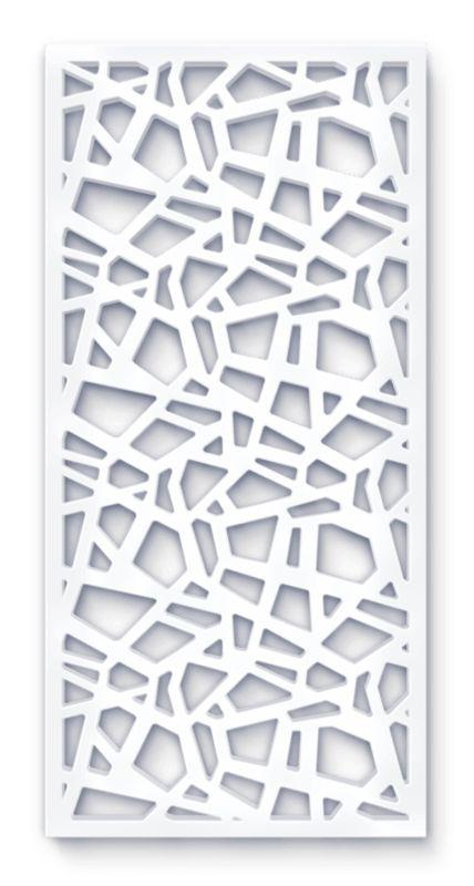 laser cut screen organic zara pattern