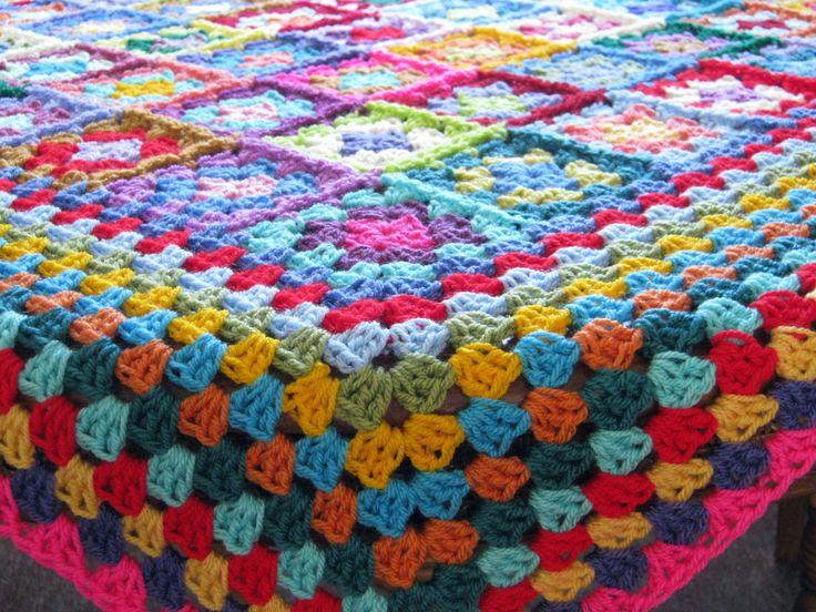 Nonna piazze Crochet coperta confine afgano di Thesunroomuk