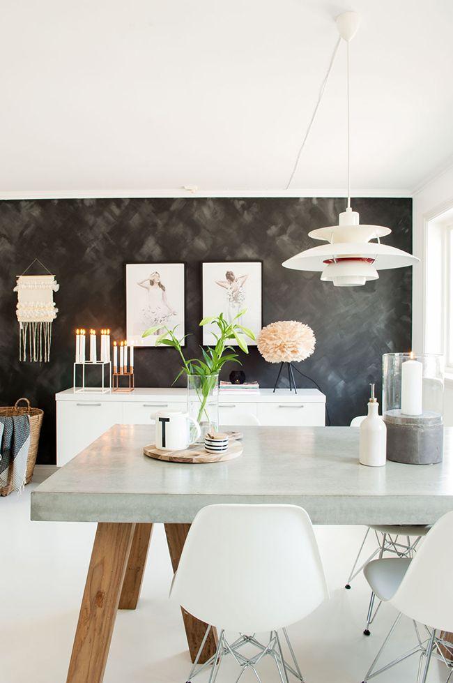 Boho Deco Chic: ROSA CUARZO, el color del año y el de esta casa PRECIOSA nórdica!