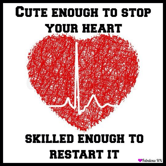 """""""Cute enough to stop your heart. Skilled enough to restart it!"""""""