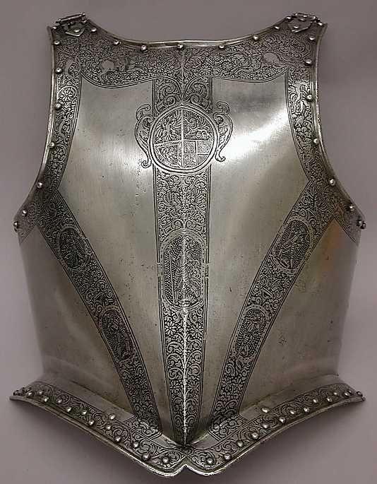 ca. 1630 Culture: German Medium: Steel Classification: Armor for Man