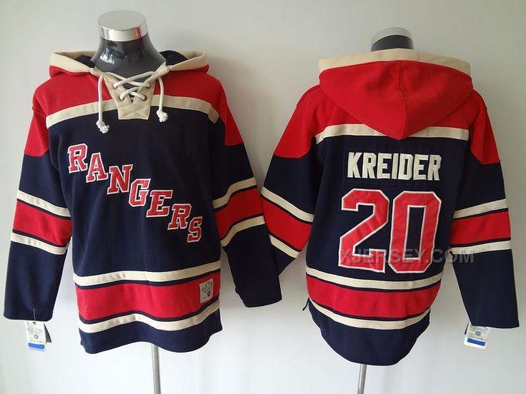 712a16b36 old time hockey new york rangers 5 dan girardi light blue hoodie