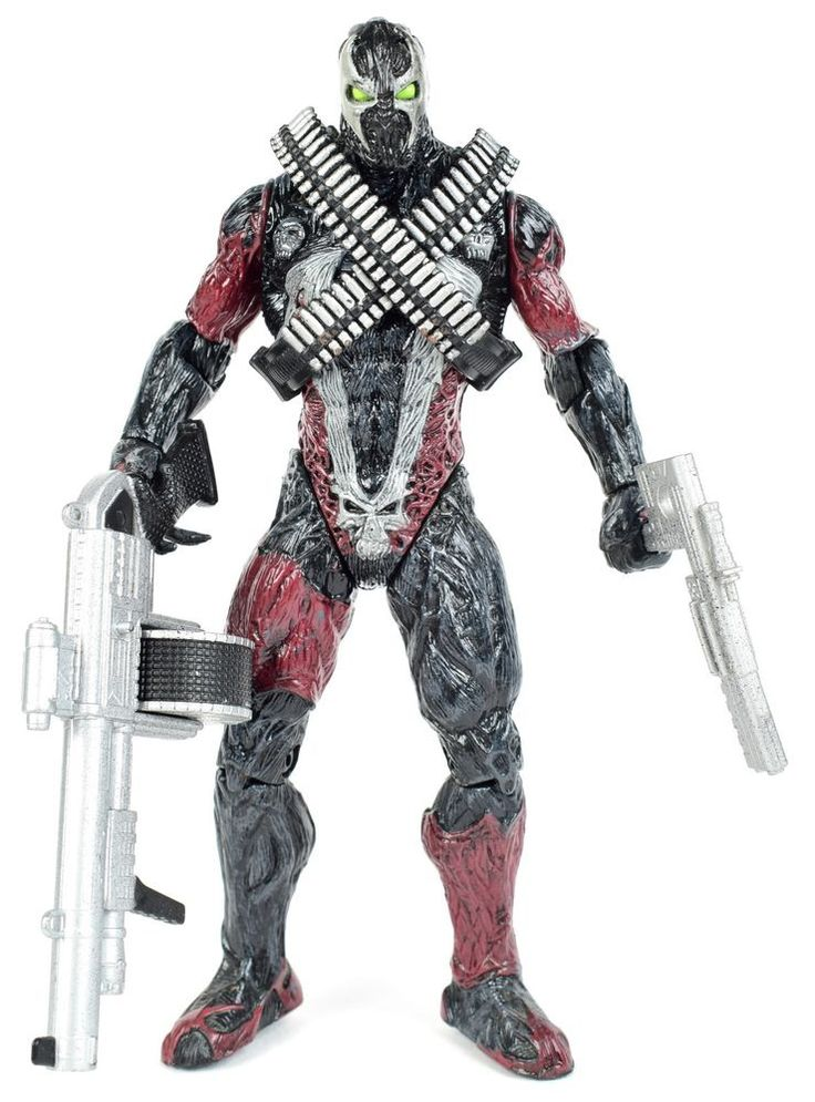 "Spawn The Movie COMBAT SPAWN 6"" Complete Action Figure McFarlane Toys 1997  #McFarlaneToys"