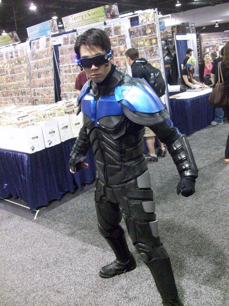 Nightwing Cosplay Costume Comic Book u0026 Manga Cosplay & Similiar Nightwing Armor Keywords