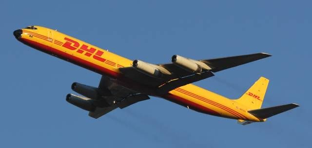 Airborne Express / DHL DC-8 freighter