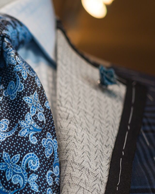 We also carry exclusive designer fabrics from Holland and Sherry, Dormeuil, and Dugdale Bros. & Co. Clients who prefer their suits to be made of foreign fabrics can choose from our select stock of Italian cloths and linings, including luxury fabrics from Ermenegildo Zegna and Loro Piana.
