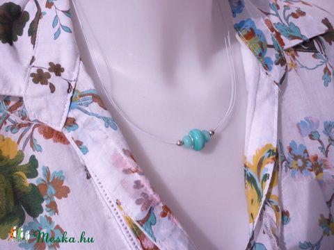 Meska - Igazán egyszerű - Pandóra, akvamarin nyaklánc desiredesign kézművestől