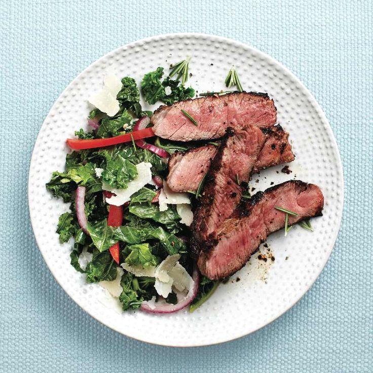 Lemony seared t-bone steak - Chatelaine.com