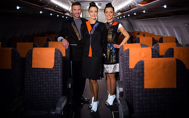 The airline has teamed up with fashion technology company CuteCircuit