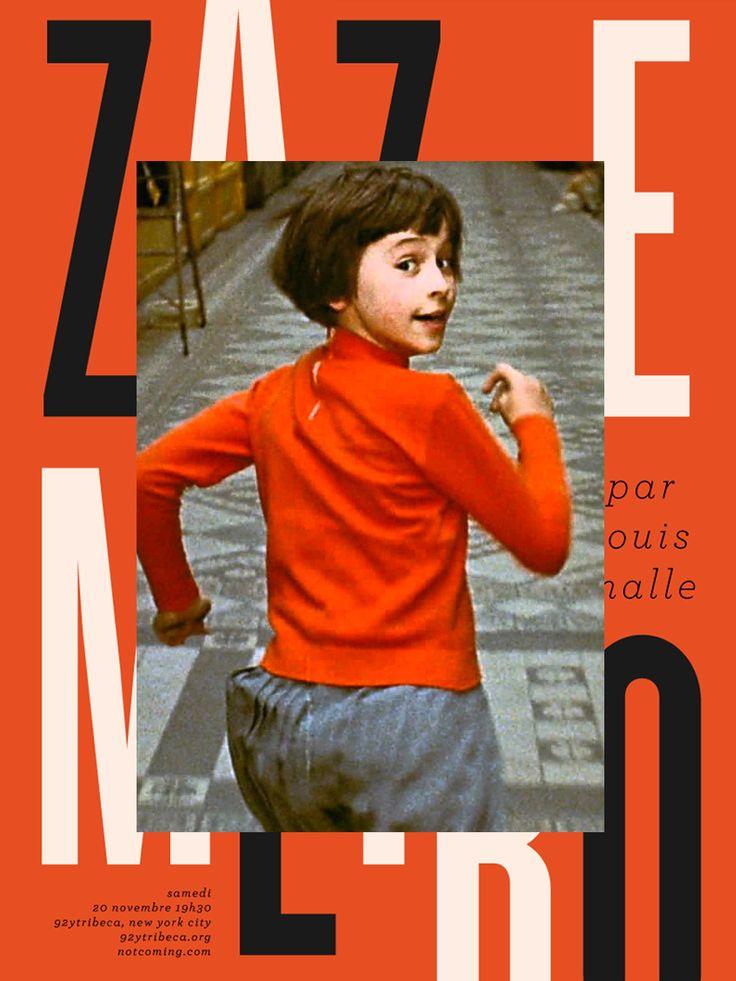Zazie dans le Métro, 地下鉄のザジ (1960)