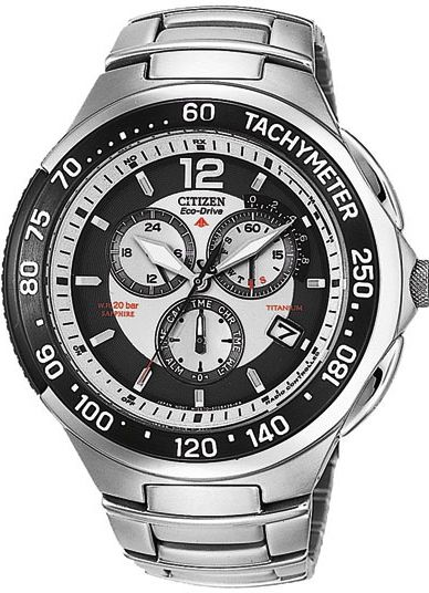 Tough, powerful, durable and super accurate. Citizen radio-controlled, eco-drive watch with luninova dial for ultimate night vision. A titanium super waterproof watch of many army divisions and for you available with a nice discount. www.megawatchoutlet.com