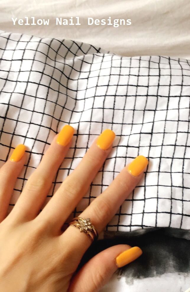 23 Great Yellow Nail Art Designs 2019 #naildesigns #yellownaildesign   – Yellow Nails