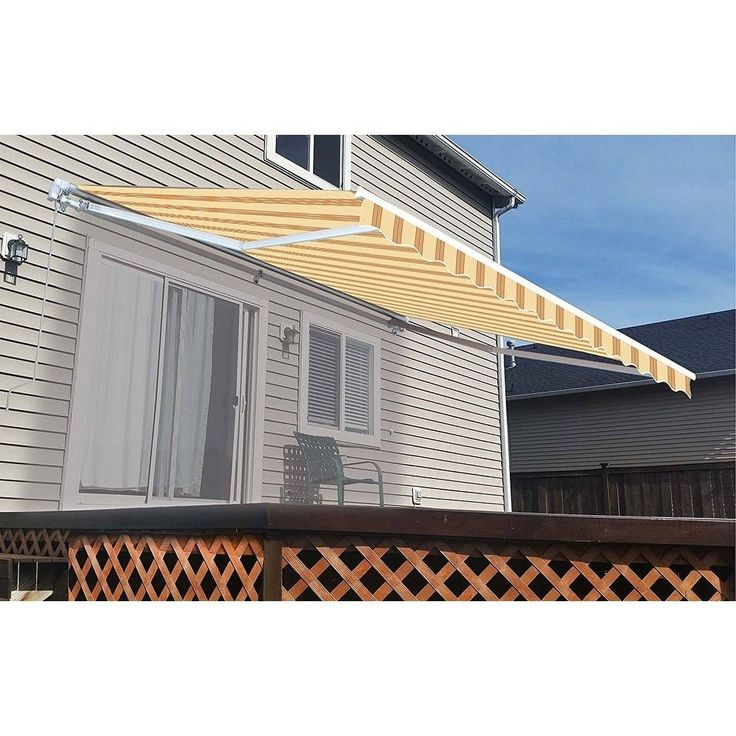 Best 25 Patio Awnings Ideas On Pinterest Deck Awnings