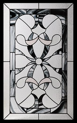 Stained Glass Door Inserts - Royale 22x36