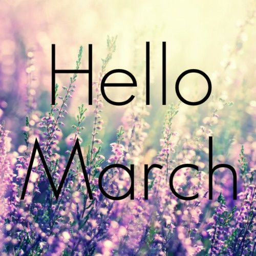 Marvelous Download Free Hello March Images, Wallpapers And Pictures. Goodbye February Hello  March Photos For