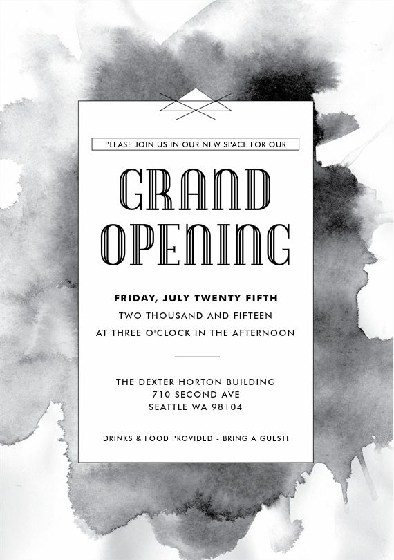 24 best grand opening invitations images on pinterest grand black ink invitations in black invitation designinvitation ideasinvitation cardsbusiness stopboris Gallery