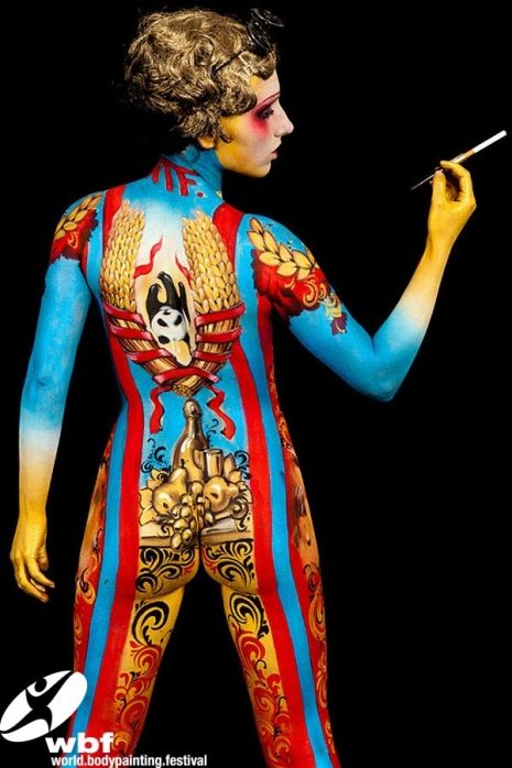 Mind-boggling images from the 'World Bodypainting Festival' in Austria | Dangerous Minds