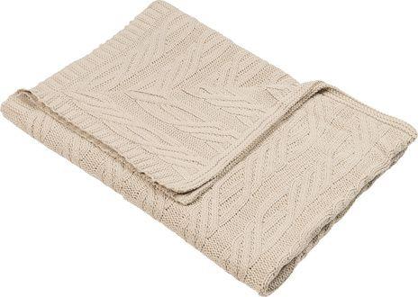 Cechy i korzyści: Pled można prać ręcznie w letniej wodzie. Dzięki trójwymiarowemu wzorowi, sprawia wrażenie zrobionego na drutach. Dzięki wyjątkowej stylistyce, pled wprowadzi do wnętrza domową ...