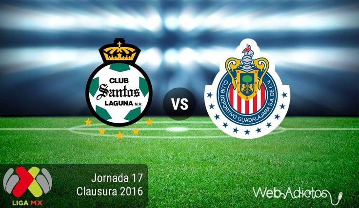 Santos vs Chivas, J17 del Clausura 2016 ¡En vivo por internet! - https://webadictos.com/2016/05/06/santos-vs-chivas-j17-clausura-2016/?utm_source=PN&utm_medium=Pinterest&utm_campaign=PN%2Bposts