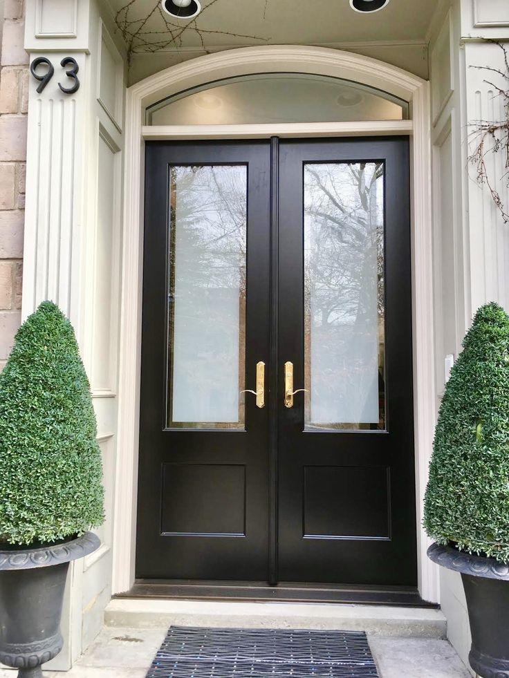Amberwood Doors Inc: Stunning #Amberwood Custom Mahogany Double #door System