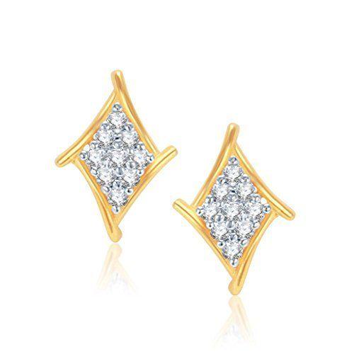 a2f2b057deac1 Buy Joyalukkas Impress Collection 22k Yellow Gold Stud Earrings ...