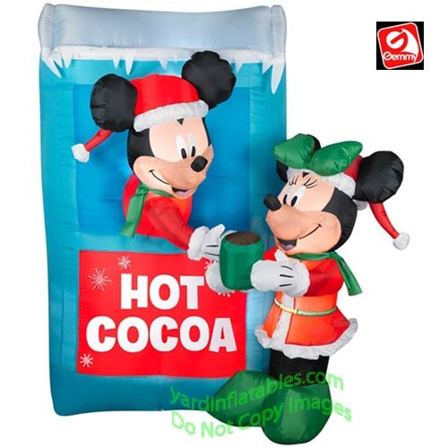 12 best Mickey Mouse outdoor Christmas decorations images on ...