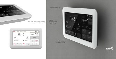 Toon® Revolutionary thermostat invites instant insight