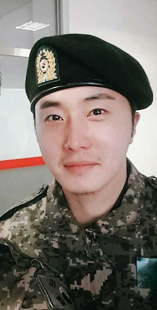 Jung Il woo ❤❤ in military