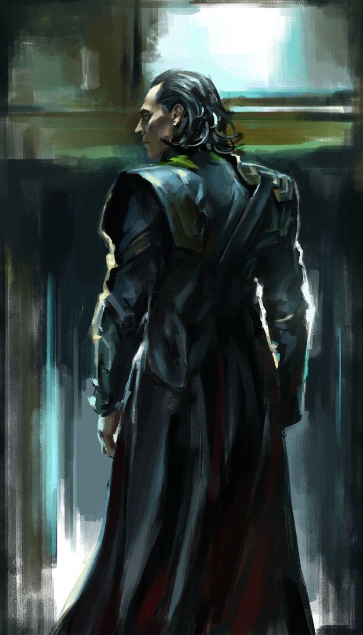 Tom Hiddleston | #Loki #Fanart #TheAvengers #Marvel