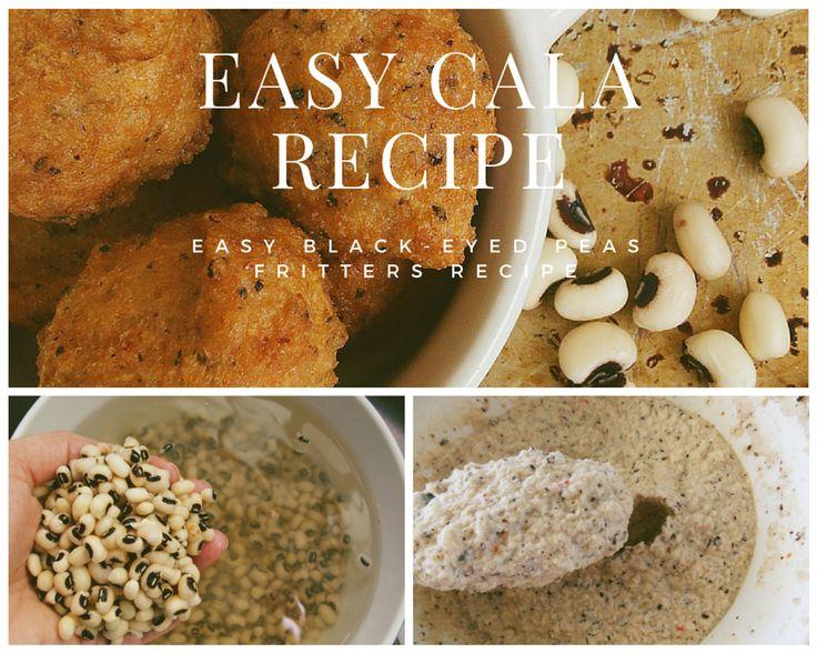 Easy Aruban Cala Recipe / Black-eyed peas fritters recipe