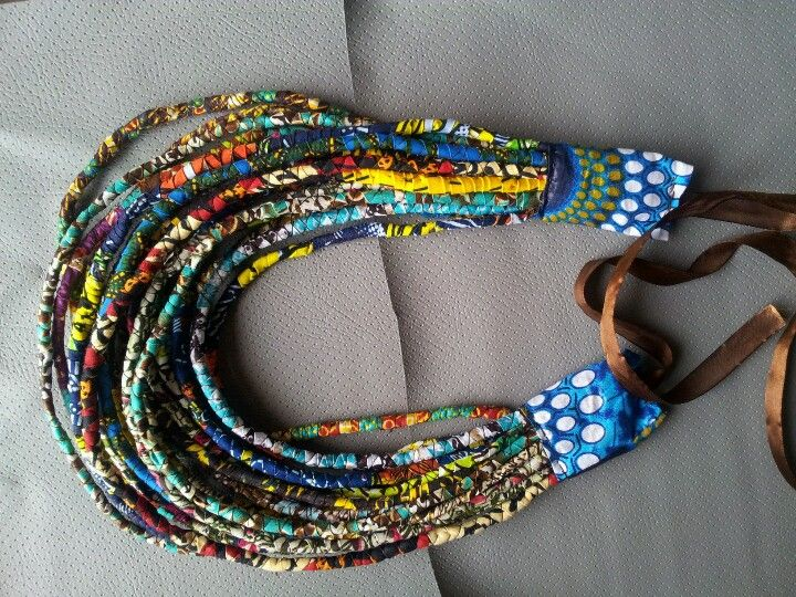 Necklace by African lace                                                       …