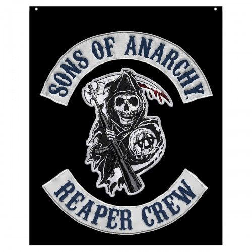 Sons of Anarchy Reaper Crew Banner