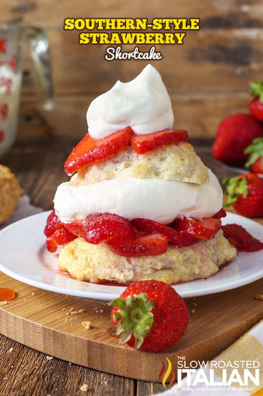Cake-Strawberry on Pinterest | Strawberries and cream, Strawberries ...