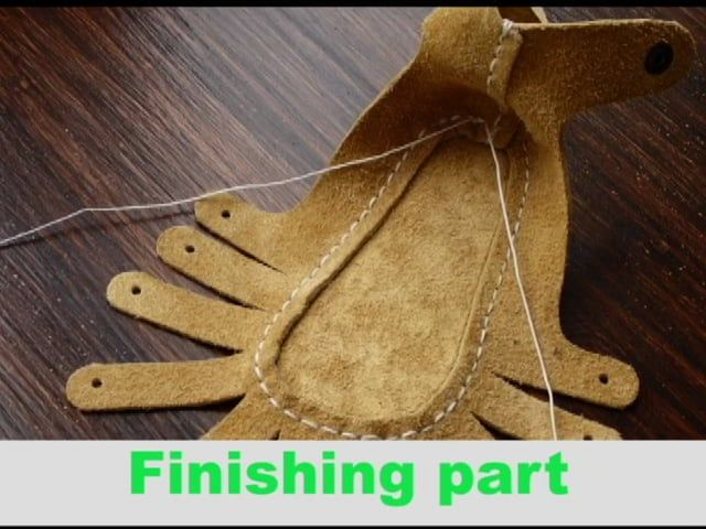 Tutorial how to sew KARO model Website : www.firstbabyshoes.com Our product is shoe making kit for new born baby.