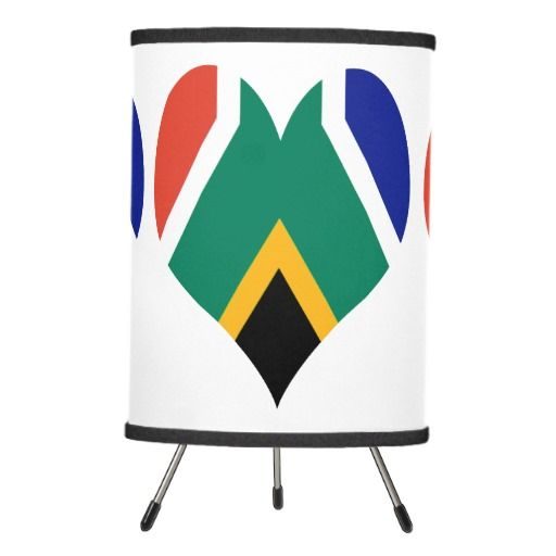 South Africa flag lamp