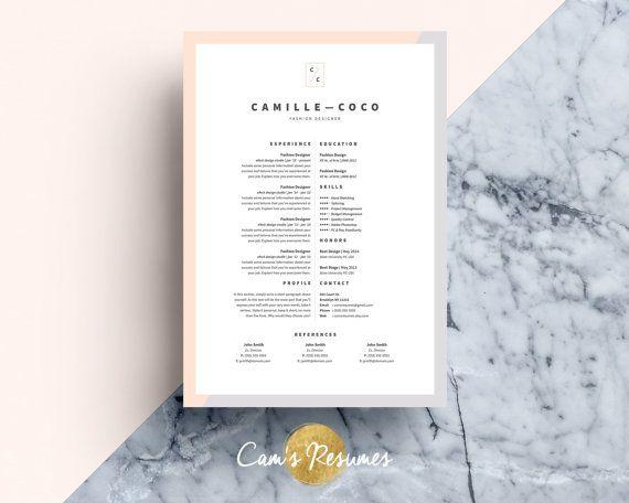 18 best Idées CV images on Pinterest Letterhead template - iwork resume templates