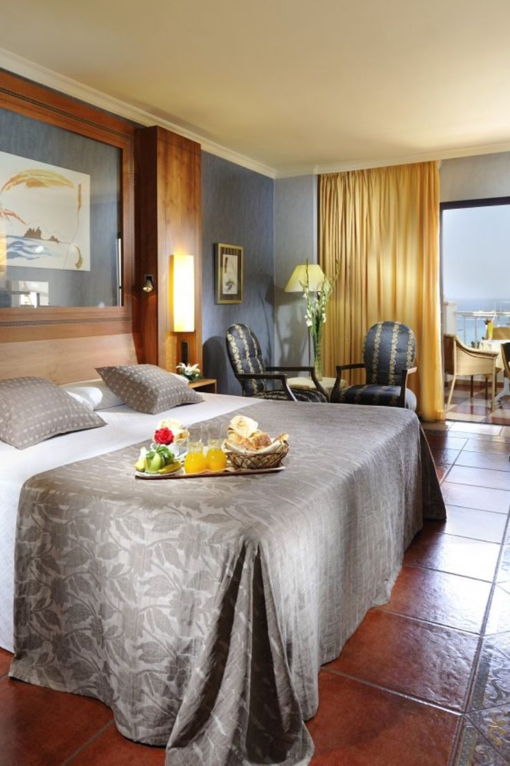 Breakfast in bed at Adrian Hotel Jardines De  Nivaria, Tenerife