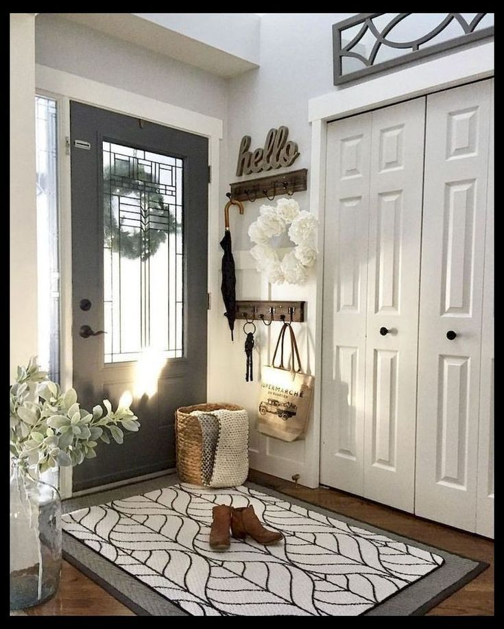 23 Best Beige Living Room Design Ideas For 2020: 53 Stunning Rustic Entryway Decorating Ideas