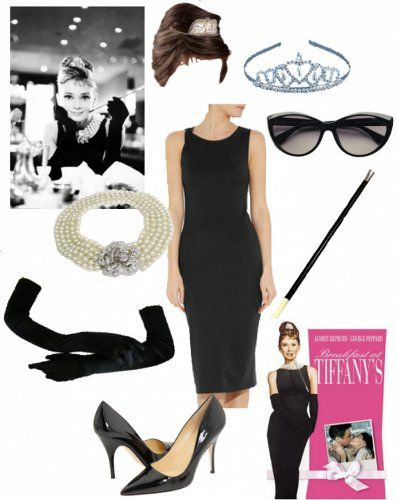 "Audrey Hepburn as Holly Golightly in ""Breakfast at Tiffany's"""