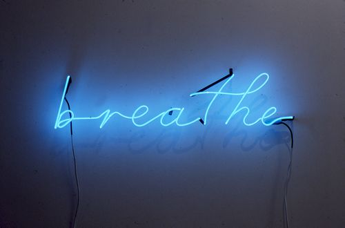 slow down and listen to your breathing...amazing isn't it?