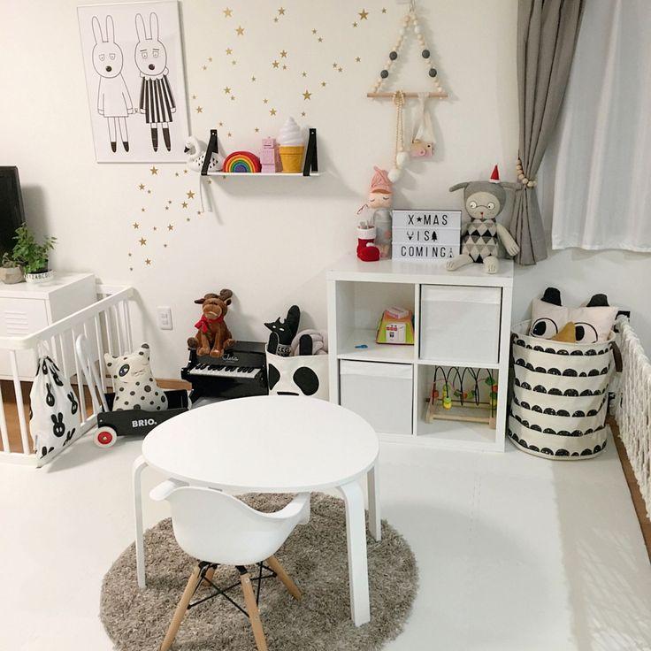 IKEA/miniwilla/プレイマット/子どもスペース/娘1歳/星…などのインテリア実例 - 2016-11-11 22:40:10   RoomClip(ルームクリップ)