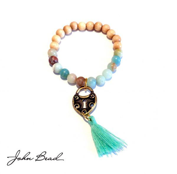 Semi Precious Beads, Wood Beads, Tassels and Charms – A Step by Step for Five Meaningful Bracelets